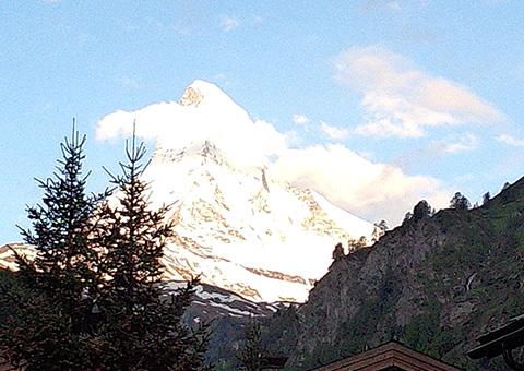 アルプス3大名峰を巡る8日間